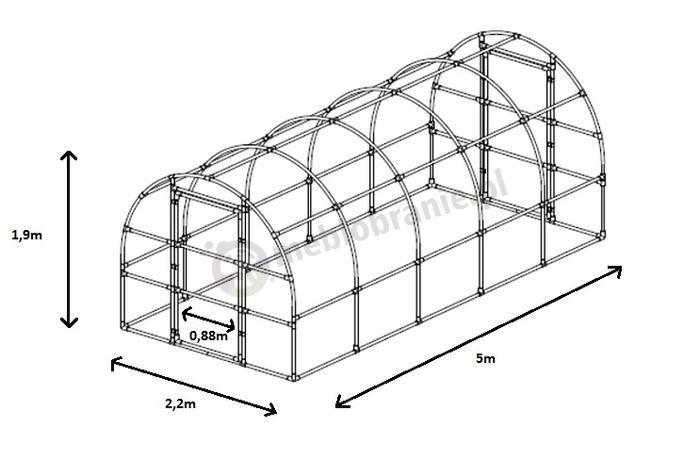 Tunel foliowy Lemar
